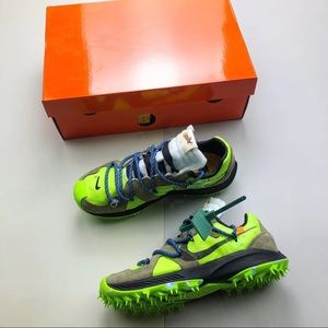 461d7cc724ec Shoes - Nike Zoom Terra Kiger 5 off-White electric green